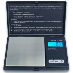 DIPSE M-600 Digitale Taschenwaage in schwarz