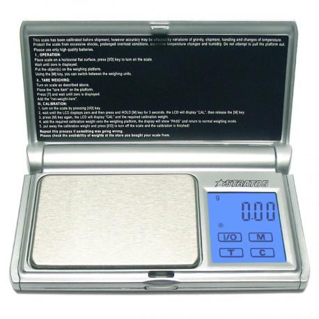 DIPSE Stratos Serie - Digitale Taschenwaage mit Touchscreen