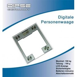 Dipse PW-150 Digitale Design Personenwaage