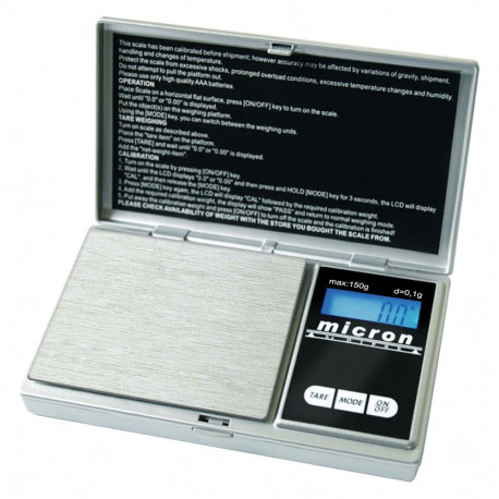 Micron Serie - Digitale Taschenwaage 150gx0,1g von DIPSE