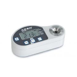 ORD 3SM Refraktometer Digital Brix 0-35: Salz(NaCl) 0-28: BI 1,3330-1,3900 - Kern Waage