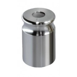 329-01   NON-OIML Gewicht 1 g, justiert nach FGKl. F1 Kompaktform mit Griffmulde, Edelstahl feingedreht  -  Kern Waage