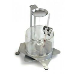 ABT-A01   Set zur Dichtebestimmung von Flüssigkeiten und Feststoffen. Anzeige der Dichte direkt im Display  -  Kern Waage