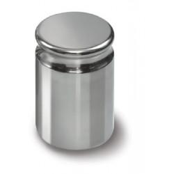 316-01 E2 Gewicht 1 g Kompaktform mit Griffmulde, Edelstahl poliert - Kern Waage