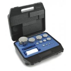 312-024 E2 Gewichtsatz Kompaktform, 1 g - 50 g Edelstahl, im Kunststoffkoffer - Kern Waage