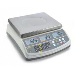 RPB 15K2DHM Preisrechnende Waage mit Eichzulassung 0,002 kg: 0,005 kg : 6 kg: 15 kg - Kern Waage