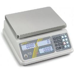 RFB 15K5IPM   Preisrechnende Waage 0,005 kg : 15 kg  -  Kern Waage