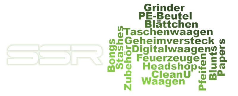 Großhändler für Headshop - Waagen, Grinder, Papers, Bongs und vieles mehr bei SSR Produkt.