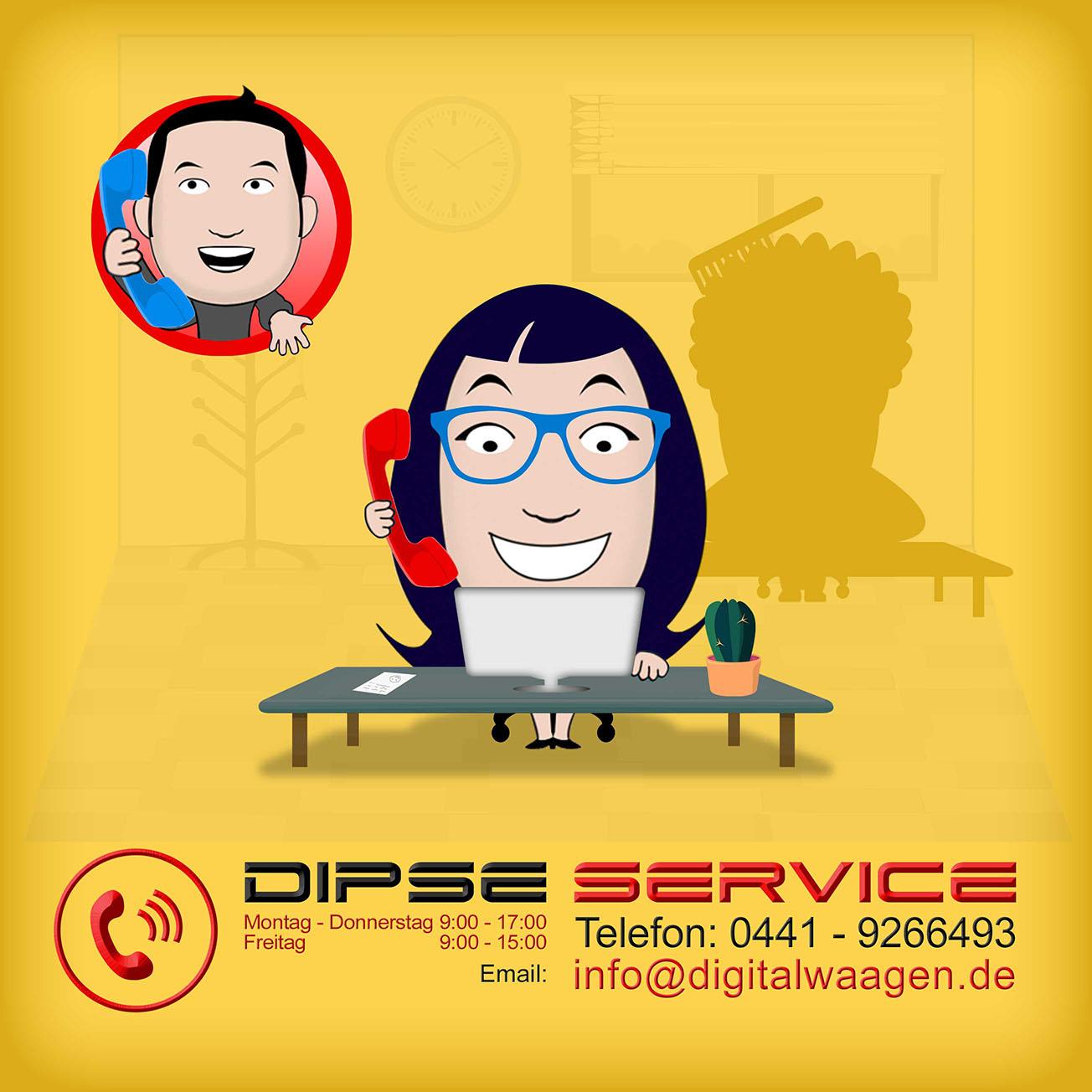 Kundenservice bei DIPSE Zigarette