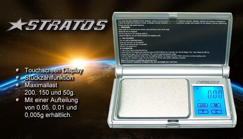 Die STRATOS ist eine handliche und robuste Taschenwaage. Mit 3 verschiedenen Aufteilungen und Maximallasten erhältlich.