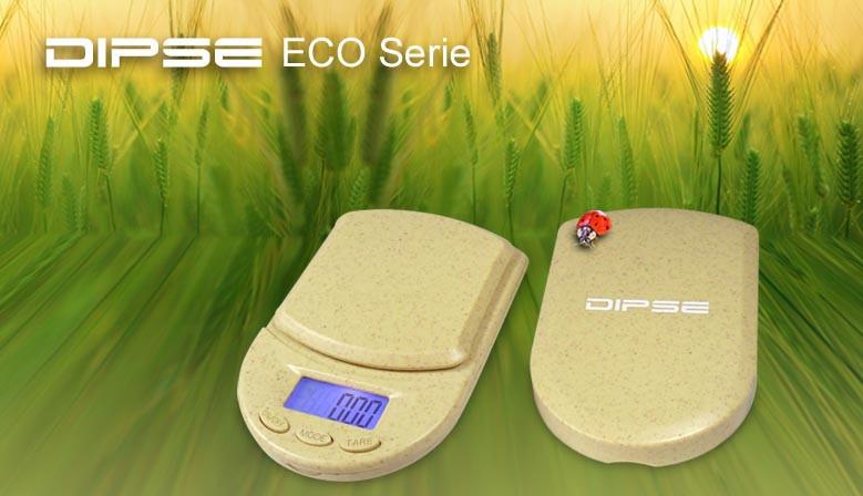 DIPSE ECO Serie - Zum Großteil aus biologisch abbaubarer Strohfaser hergestellt.
